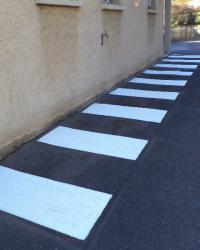 Marquage industriel à Lyon - Société de marquage au sol