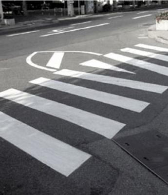 Réalisation de marquages routier